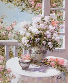 Lucia Sarto Italian Romantic Impressionist.