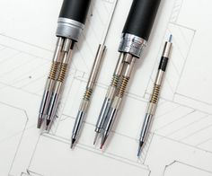Rotring Trio Pencil - Three colour mechanical pencil