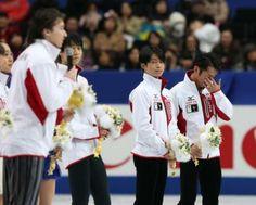 "Team Japan for Sochi Olympics, Figure Skating@高橋が""第3の男""!滑り込み五輪切符 悔し涙からうれし涙に"