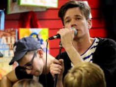 """""""All Alone"""" - FUN. Acoustic performance at Zia Records in Chandler, AZ 2..."""
