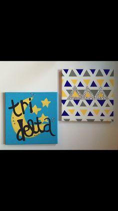 Tri delta canvases