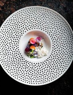 Molecular gastronomy finally arrived on Oahu about a year ago, at Vintage Cave, where you'll find dishes like this one: roasted, raw, and pi...