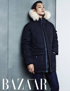 Lee Soo Hyuk is contemporary and chic in 'Adidas' gear for 'Bazaar' pictorial | http://www.allkpop.com/article/2014/12/lee-soo-hyuk-is-contemporary-and-chic-in-adidas-gear-for-bazaar-pictorial