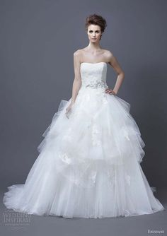 enzoani wedding dresses 2013 hadil ball gown