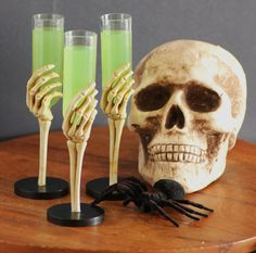 Embalming Fluid, a Hauntingly Good Cocktail!!