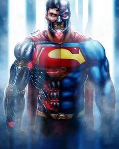 1,753 mentions J'aime, 6 commentaires - @domstar8 sur Instagram : « Cyborg Superman By Grange Wallis »