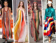I colori dell'arcobaleno: Missoni, Chloé, Tommy Hilfiger, Gucci