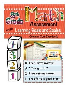 Assess Marzano Scales with concrete tasks for each level of the scale. No more student-guessing!!! What a relief! Grades 1-8.