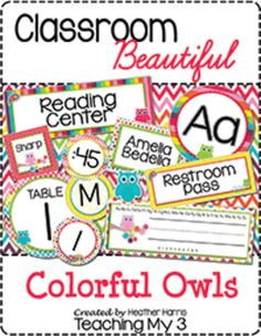 245 Best Owl Classroom images in 2019 | Owl theme classroom