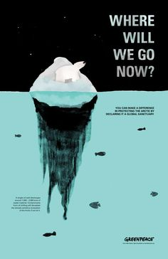 Save the Arctic by Voranouth Supadulya, via Behance
