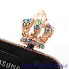 Oh-So-Regal Crown Phone Charm