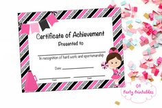 Cheerleading certificate cheerleading by nanaspartyprintables cheerleading certificate cheerleading award by otpartyprintables yadclub Image collections