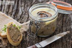 Paté de champiñones con tomillo y Marsala