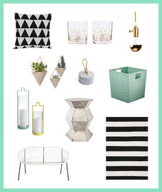 3 Modern Ways to Decorate Your Porch This Spring via Brit + Co