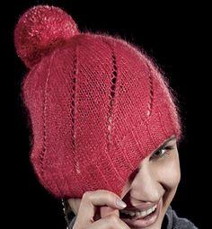 Modèle bonnet point ajouré femme
