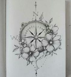 Pusula demirden yönlendirilir! Fakat dünya ekseni ile biraz farklılık gösterir! Hesaplama farklılığı vardır!(şu an ifadede eksiklik var kafamdaki bilgiyi biraraya getiremiyorum çok eskiden kalma olduğundan) Compass tattoo
