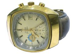 Vintage Omega Seamaster Jedi Chronograph Self-Winding Mens Watch
