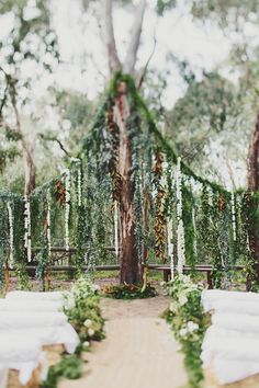 79 best Outdoor Wedding Ceremony Ideas images on Pinterest | Field ...