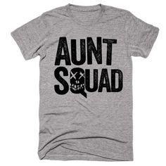 Aunt Squad Suicide Squad Themed T-Shirt f52a6c00a