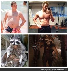 Chris Pratt isn't the only one who worked out for Guardians of the Galaxy
