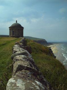 Mussenden Temple, overlooking Benone Strand, Northern Ireland ~j&g•were•here~