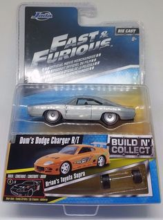 FAST AND FURIOUS Build N Collect DOM'S DODGE CHARGER R/T 1:64 Diecast JADA #JadaToys #Dodge