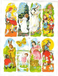 Imagenes vintage cuentos