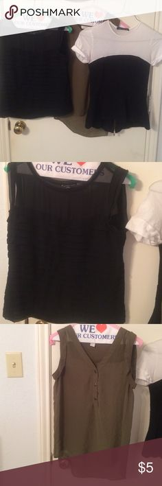 Tops bundle Very good condition. Size: S & XS Tops Tunics