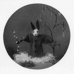 These Easter bunnies are eggceptionally creepy//evil easter bunnies