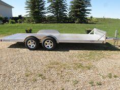 Car Hauler Trailer, Trailers, Utility Trailer, Crane, Recreational Vehicles, Jeep, Rv, Automobile, Racing