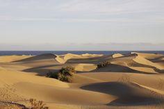 Gran Canary - the famous dunes of Maspalomas Gran Canaria - die berühmten Dünen von Maspalomas