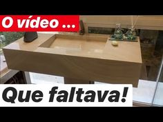 BANCADA DE PORCELANATO/ NÃO PERCA! PT2 - YouTube Sala Geek, Cuba, Pedestal, Youtube, Make It Yourself, Home Decor, Concrete Kitchen, Bathroom Sinks, Pink Ceiling