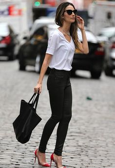 Citizens of Humanity Rocket Leatherette Jeans - as seen on Lily Aldridge