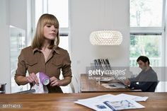 Stock Photo : Couple in Kitchen