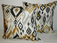 DecorativeAccentThrow  Pillow CoverFree US by EllensDesigns, $58.00