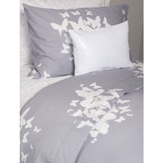 Believe You Can Fly Duvet/Sham Set - Twin/Twin XL - Butterflies - Grey, White - Includes sham Dormify,http://www.amazon.com/dp/B00AO9C1W2/ref=cm_sw_r_pi_dp_9nBAtb0P8S9CWB5B