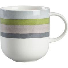 Finn Mug I Crate and Barrel...named after our little guy and the colors of our house!