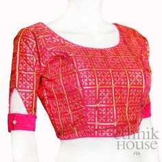 Latest Blouse Neck Designs, New Saree Blouse Designs, Blouse Designs High Neck, Blouse Designs Catalogue, Simple Blouse Designs, Stylish Blouse Design, Latest Blouse Patterns, Traditional Blouse Designs, Sleeves Designs For Dresses