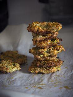 Zucchini Fritters – Nina's Vegan Recipes