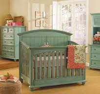 Rustic Turquoise Nursery   Love This! Rustic Nursery Furniture, Teal  Furniture, Painted Nursery