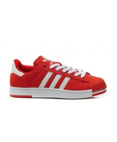 Adidas Superstar Mens Red Discount Fashion Sneakers T-1093 Best Wear 7631234b1