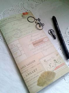 PARIS Traveler's Notebook Insert, Field Notes Insert, Fauxdori Insert, Midori Insert, Personal Log, Paris Notes and Cards - N079