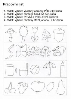 Související obrázek Kids Learning Activities, Preschool Worksheets, Preschool Activities, Coloring Books, Coloring Pages, Primary Teaching, Paper Birds, Document Sharing, Painting For Kids