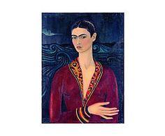 Impresión sobre lienzo Frida Kahlo - 55x75 cm