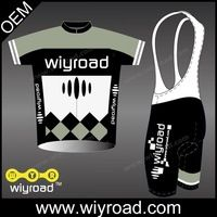 Low MOQ OEM breathable cycling t shirt ,men's bike jersey,cycling set men with very good price