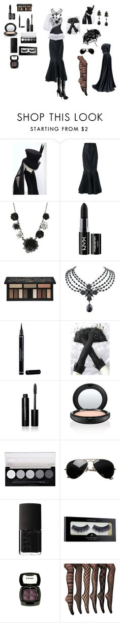 """""""Cus I want to okay"""" by toxxic-venom ❤ liked on Polyvore featuring Alessandra Rich, NYX, Kat Von D, 1928, Christian Dior, Bobbi Brown Cosmetics, Jenny Packham, MAC Cosmetics, L.A. Colors and NARS Cosmetics"""