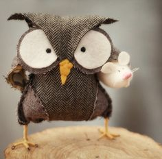 I love this owl with attitude!