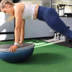 Try Bosu for the Ultimate Home Ab Workout