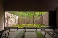 David Chipperfield . Cemetery chapel and visitor centre . Inagawa  (8)