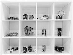 Vintage Camera Collection, via Flickr.